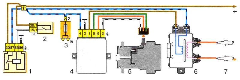 1111 bz shema 4298 - Электрическая схема ваз 11113 ока